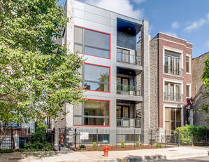 1020 N Marshfield Ave. CHICAGO  4 UNIT CONDO BUILDING PROJECT SALES & MARKETING DEVELOPER REPRESENTATION