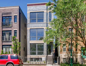2848 N Damen Ave. CHICAGO  3 UNIT apartment BUILDING new construction DEVELOPER REPRESENTATION