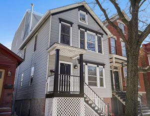 1623 n. mohawk st. CHICAGO  3 UNIT MULTIFAMILY BUILDING BUY/HOLD FOR INVESTMENT SELLER REPRESENTATION