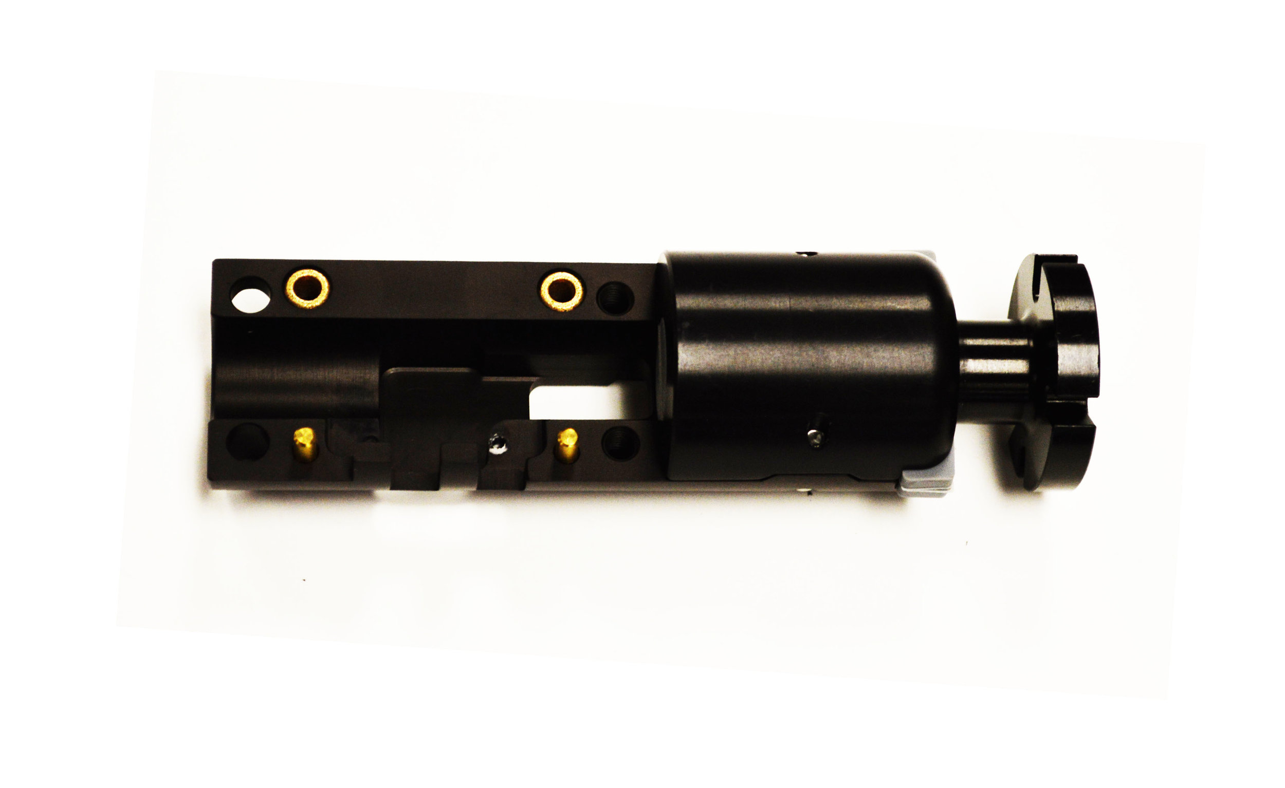 3-Piece Electronic Snubber     Body Only: SMS-5406-MT        Injection: SMS-5407         Insert: SMS-5408