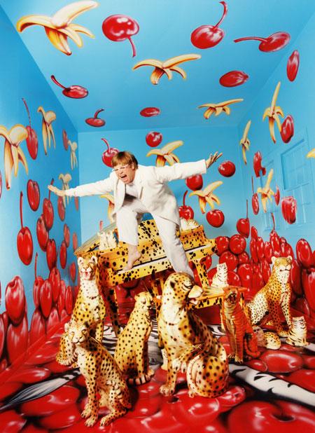 David LaChapelle , Celebrity + Fashion photographer