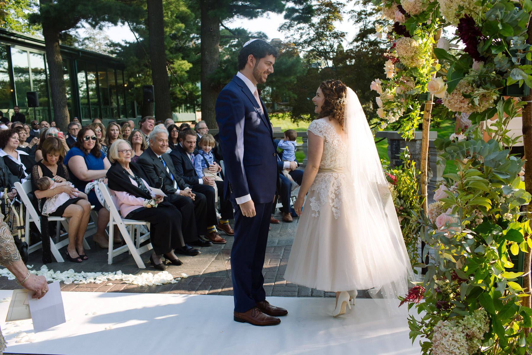 modern Jewish wedding photographer