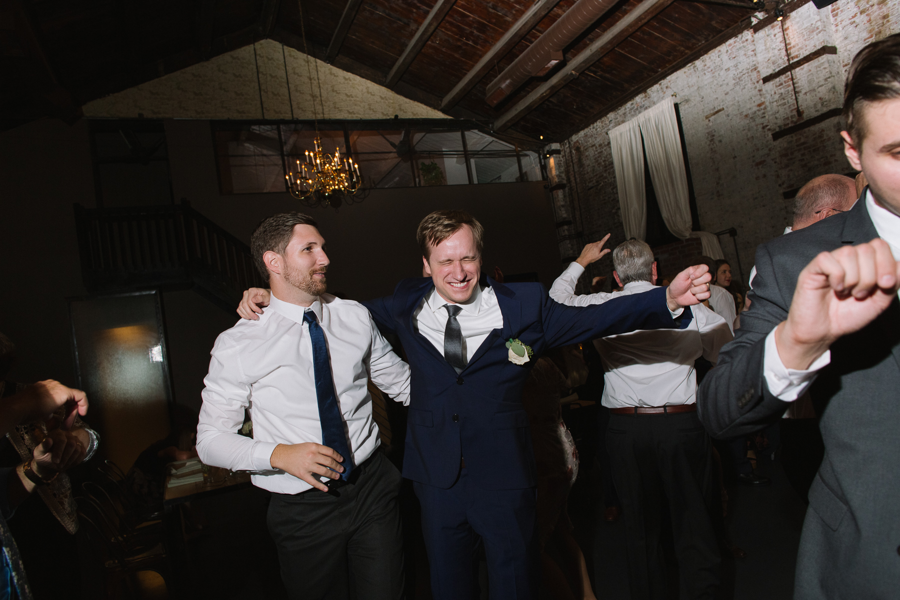 green building wedding brooklyn wedding photographers