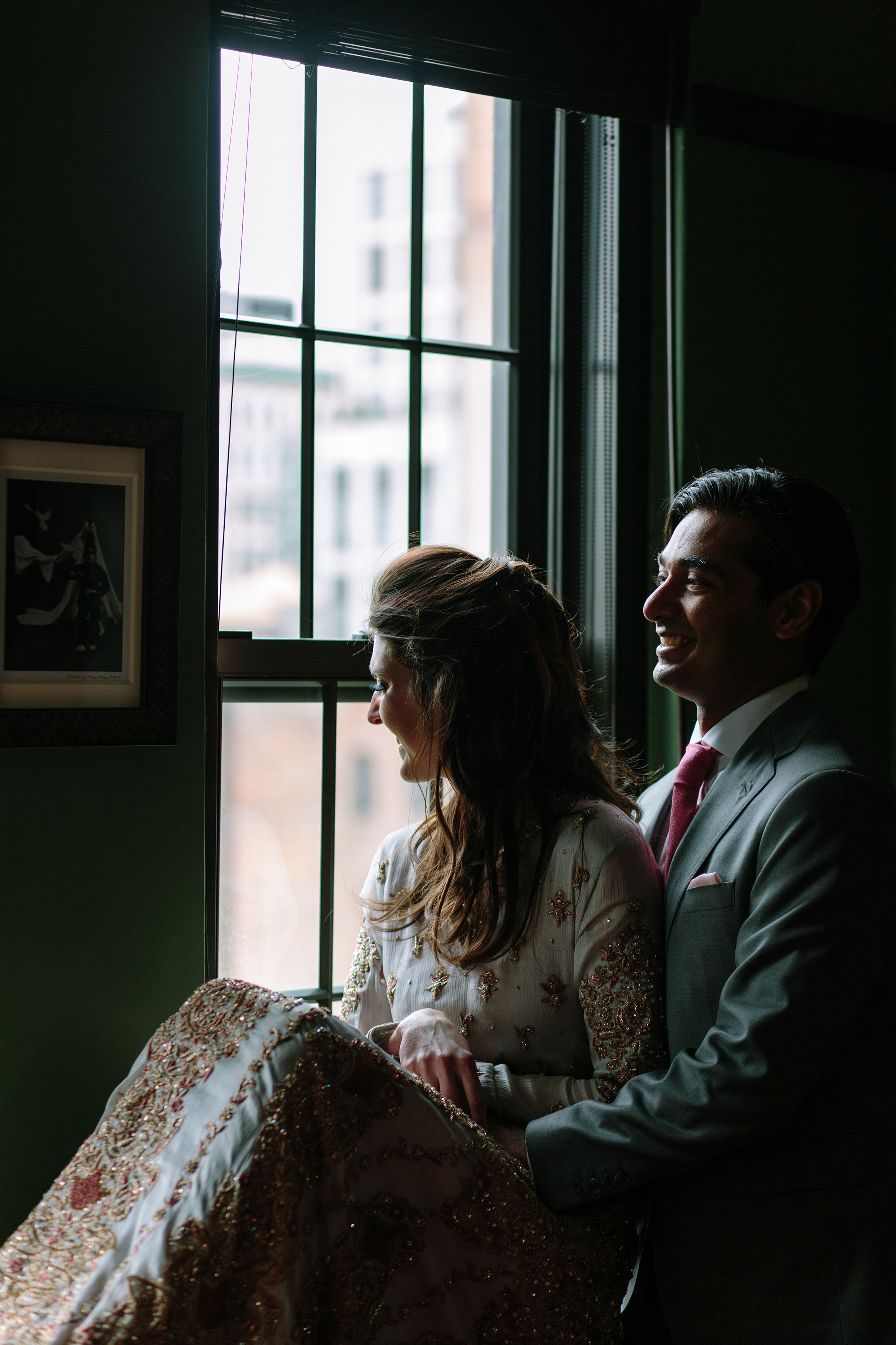 Charlotte + Afsah at The Gramercy Park Hotel Weddings