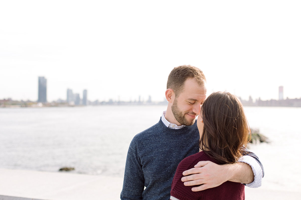 NYC engagement session photographer