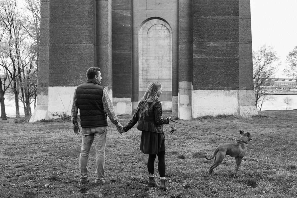 Astoria Park engagement photos