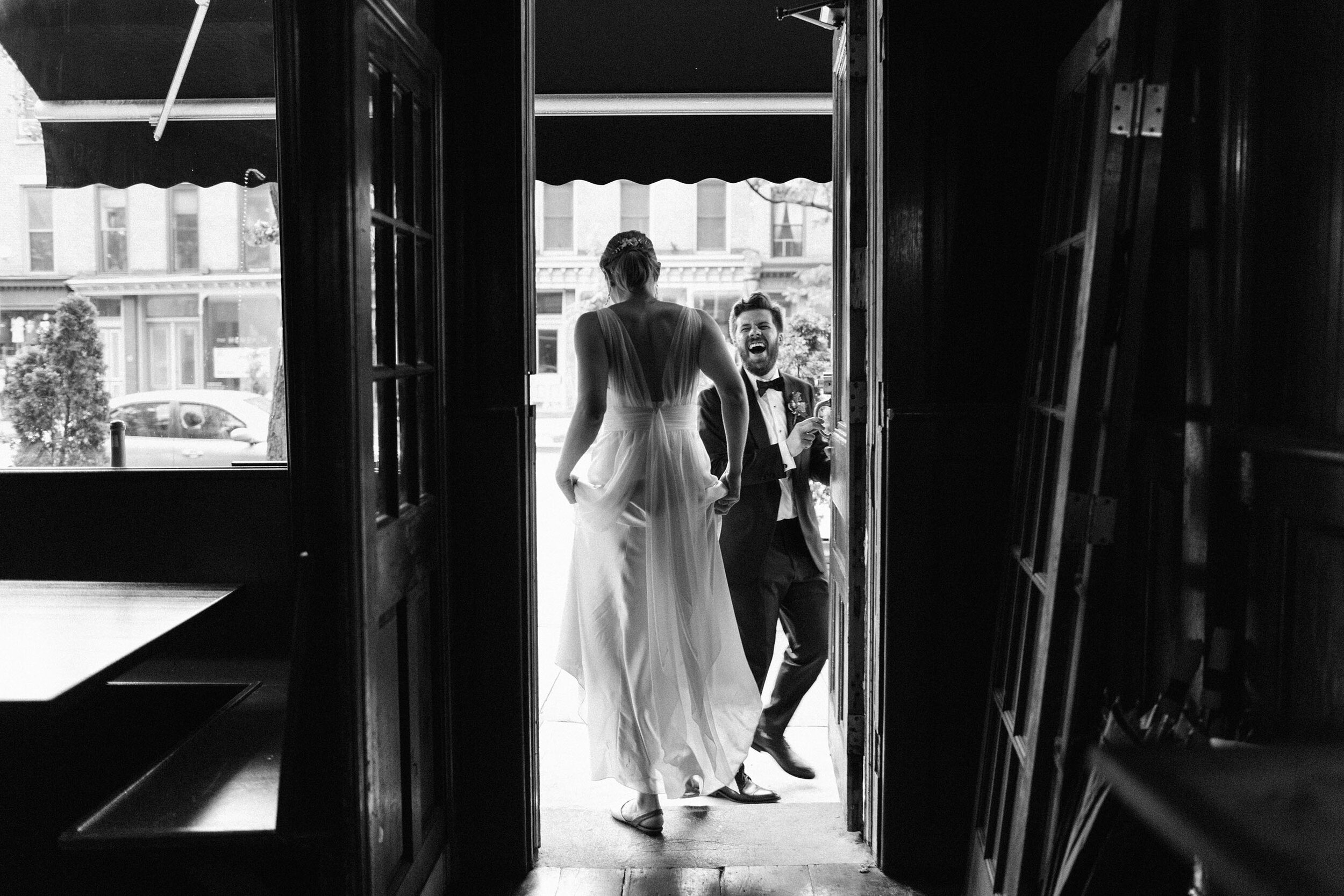 Bacchus Bistro Wedding, Brooklyn // Sarah + Aaron  View Post