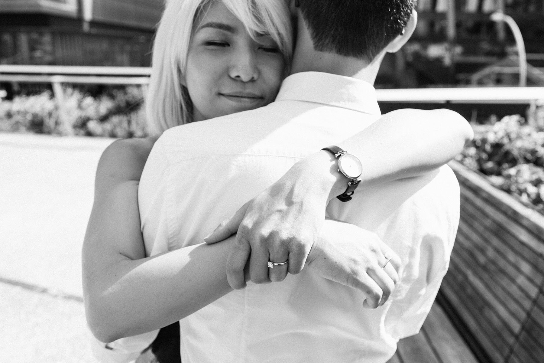 High Line Engagement Session // Lillian + Oliver  View Post