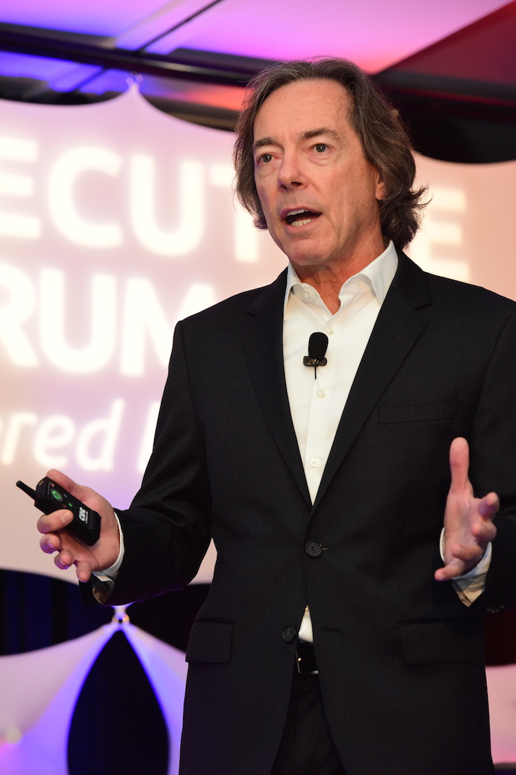 """Jerry delivers a transformational keynote address to        Chief Executive Officers,  """"What Business Are YOU In?"""""""