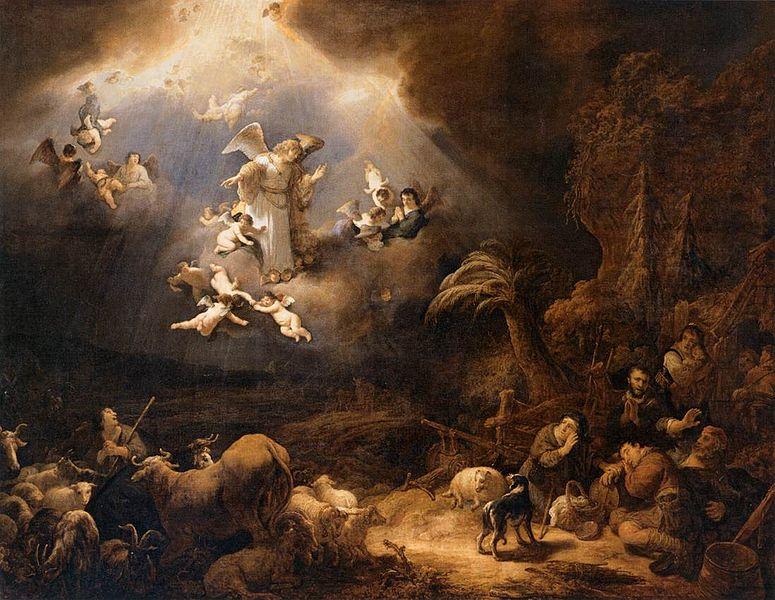 Govert_Flinck_-_Angels_Announcing_the_Birth_of_Christ_to_the_Shepherds_-_WGA07928.jpg