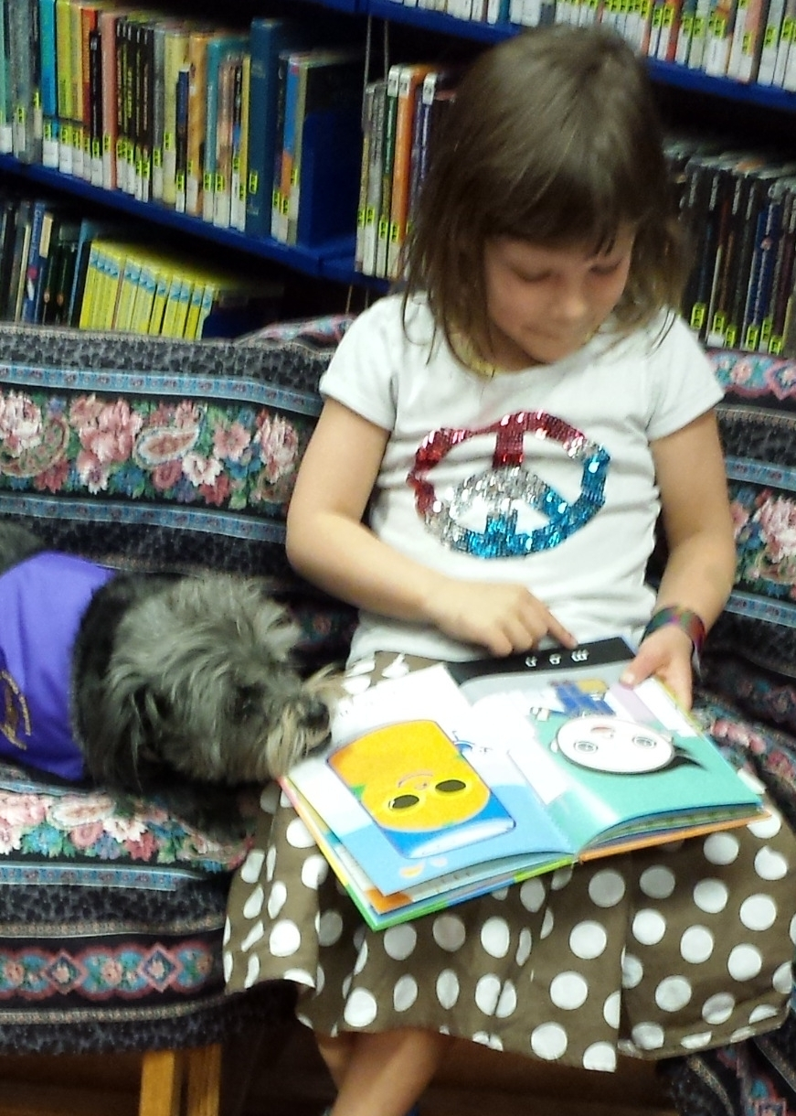 Read to a Dog - Donate in T2's memory