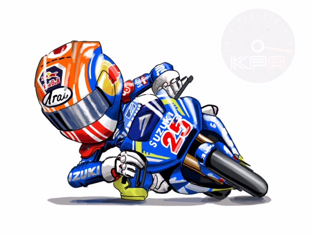 Maverick Vinales Cartoon