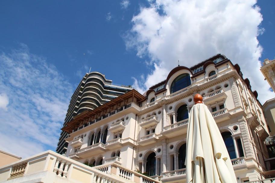 The Hermitage Hotel in Monaco
