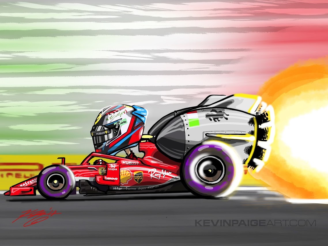 Kimi Rocket - Monza 2018