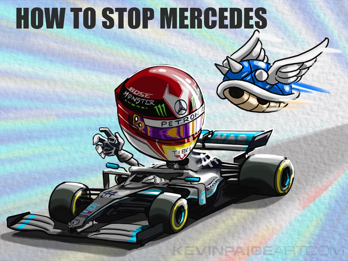 How to Stop Mercedes - 2019