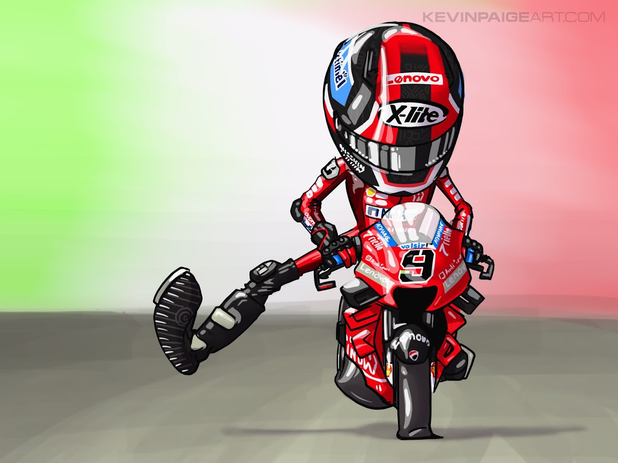 Petrucci Mugello Cartoon - 2019