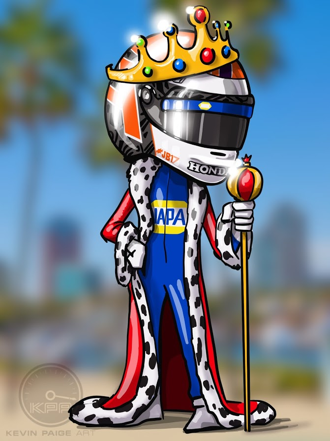 King of Long Beach - Cartoon 2019