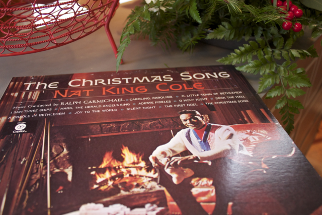 Turn on your favorite Christmas tunes.