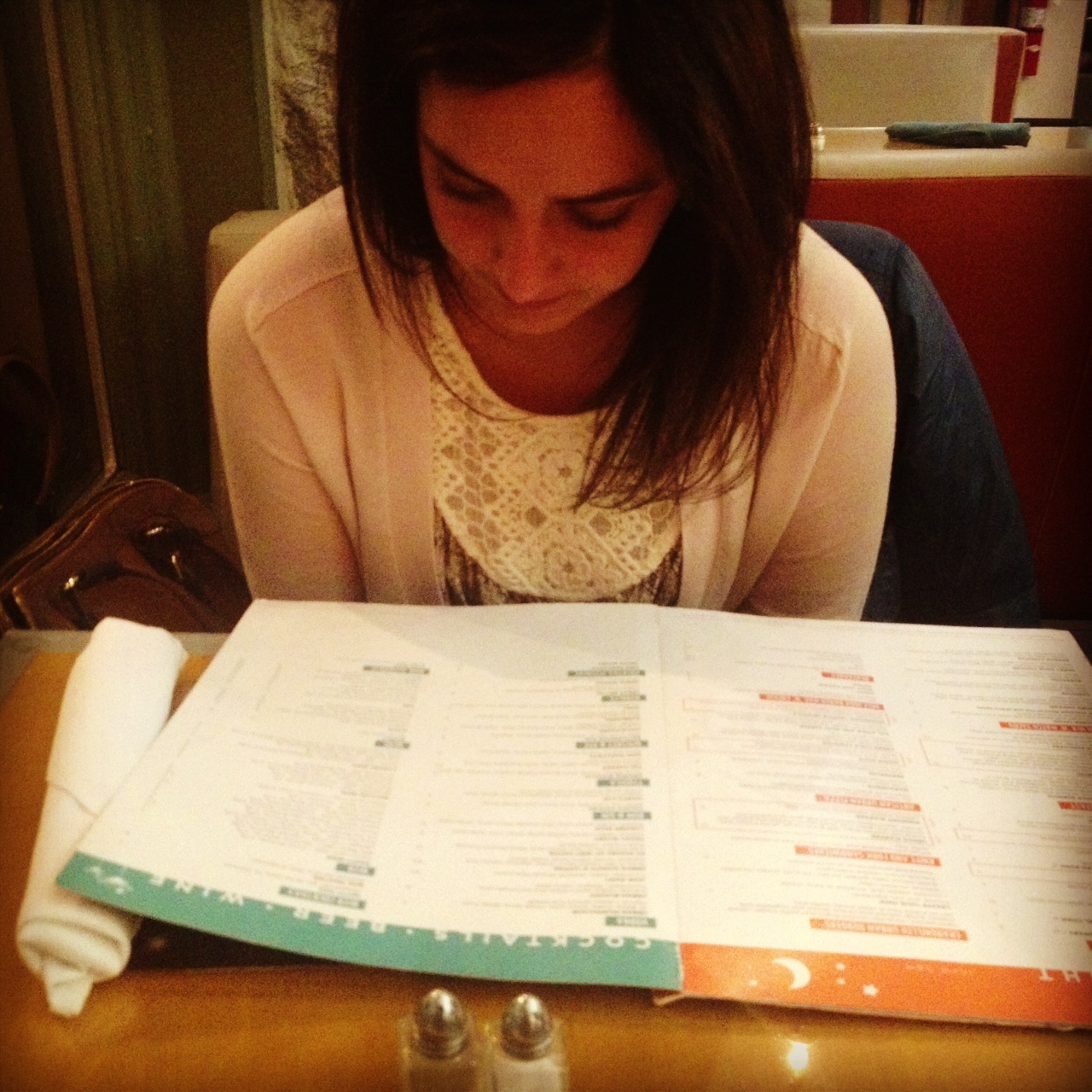 The menu is waaaay too big, according to what I know from watching Gordon Ramsay's 'Kitchen Nightmares'.