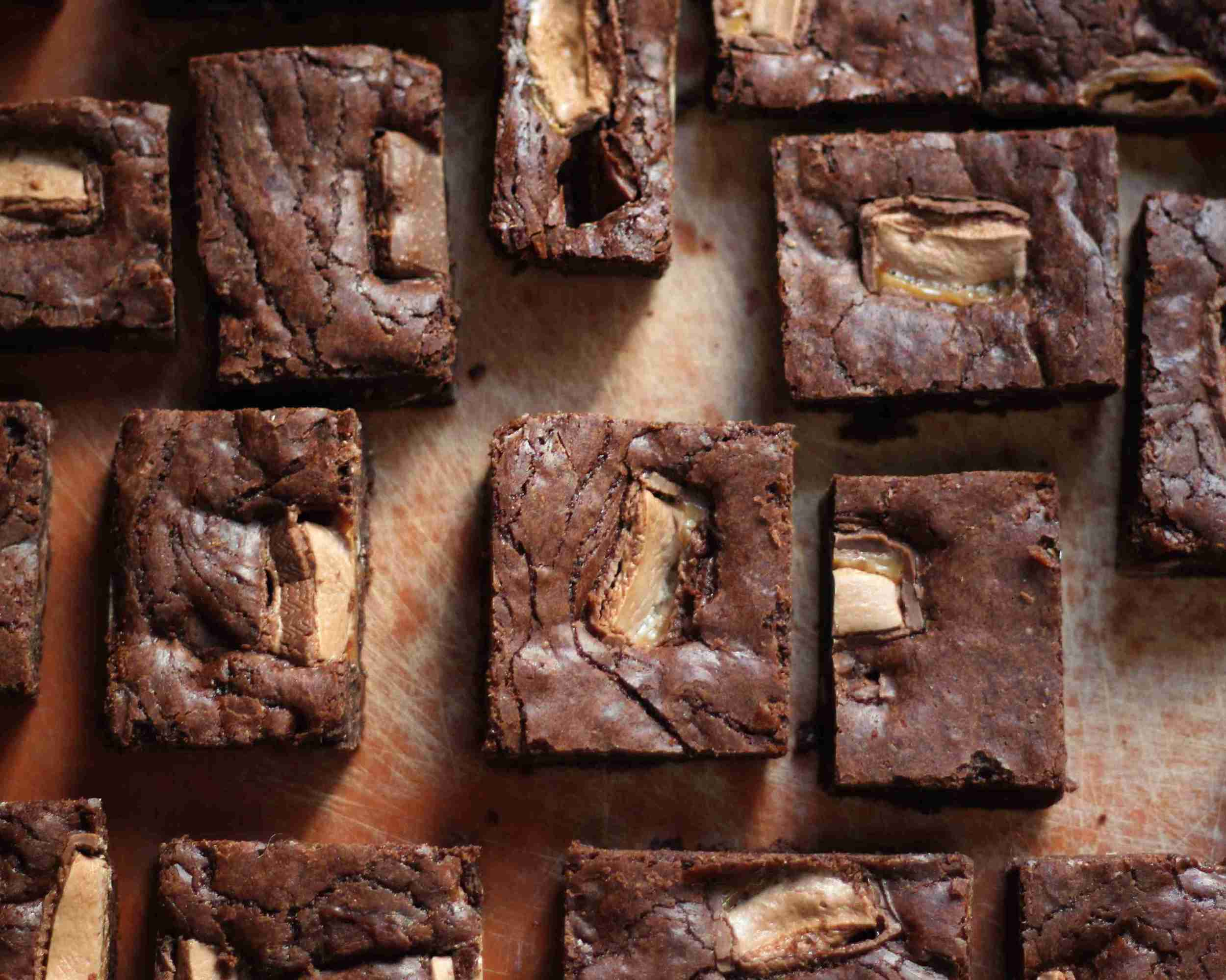 Milky Way Brownies , available in the  Bake Sale