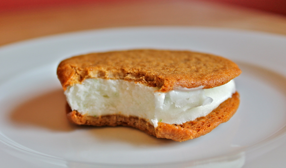 Homemade Ice Cream Sandwiches , available in the  Bake Sale