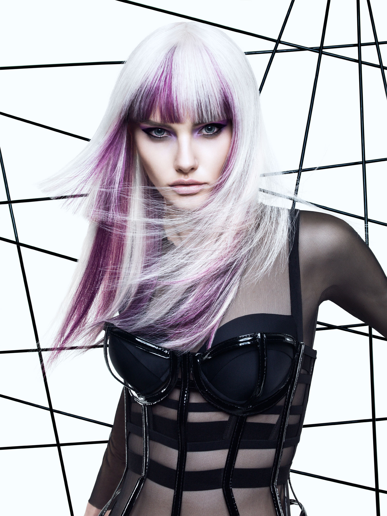 Kink Hair    Haircolor:  Luis Gonzalez  Cut and Style:  Allen Ruiz  Makeup:  Anastasia Durasova  Photo:  Yulia Gorbachenko Wardrobe: Sandy Aremeni