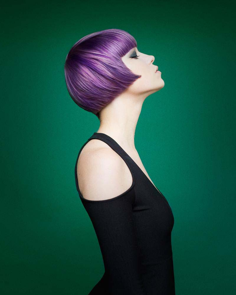 Haircolor:  Jen Roskey  Haircut:  -Eliot Standen  Make-up: Janell Geason  Photo:  Babak