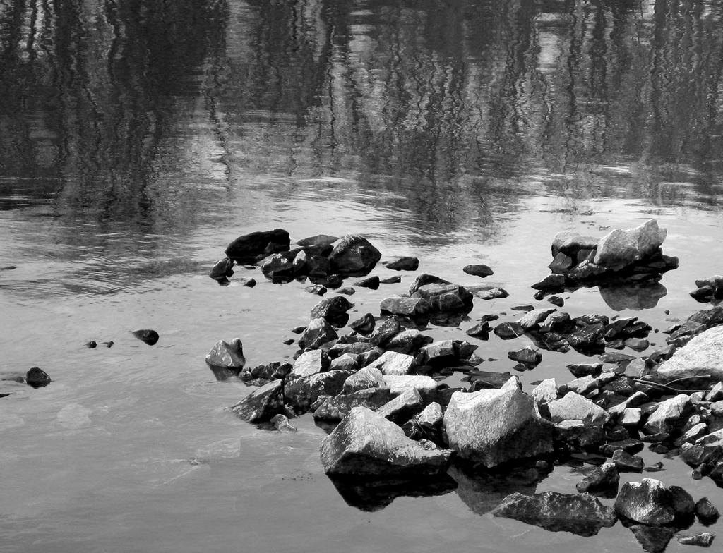Old Quarry Rocks - Reflection II