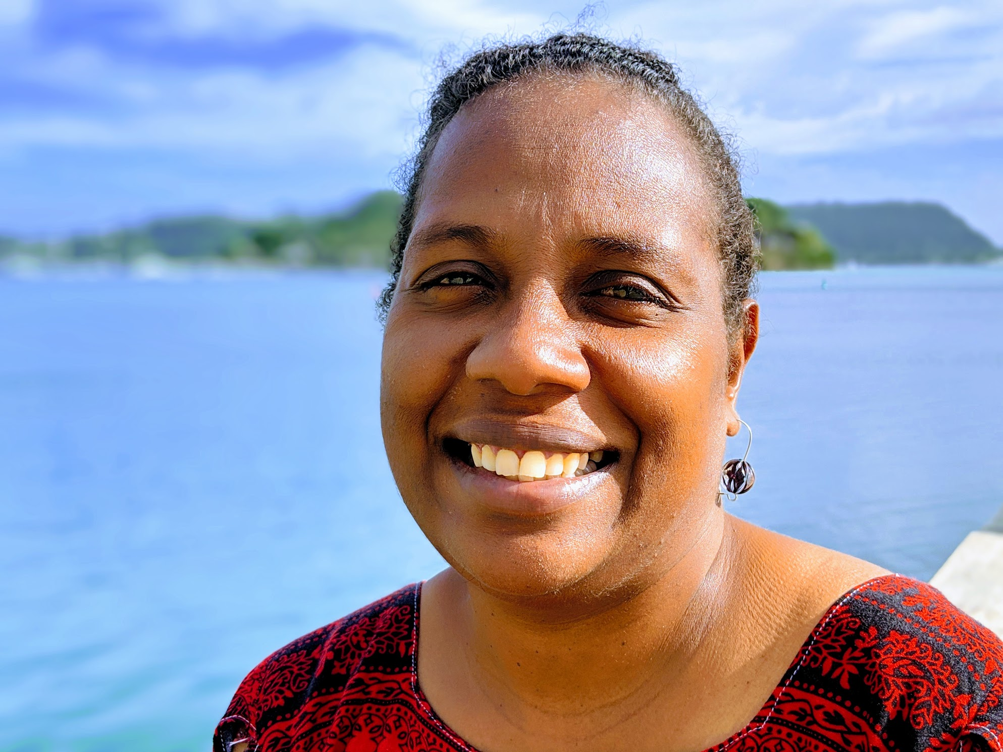 Amanda Bue Tavoa - Culture & Country CoordinatorAmanda Bue Tavoa is a trained tradeswoman turned community-based educational specialist. She brings to the team a wide range of experiences and knowledge. After completing her studies in community-based education at the University of the South Pacific in Fiji, she returned to Vanuatu and began a career in community development. Mrs. Tavoa has worked on a wide range of community development projects from faith-based programs, school age programs, youth programs and addressing violence against women programs by working with men who use violence to recognize their distructive behviour and learn to change their behviours towards their partners and families.