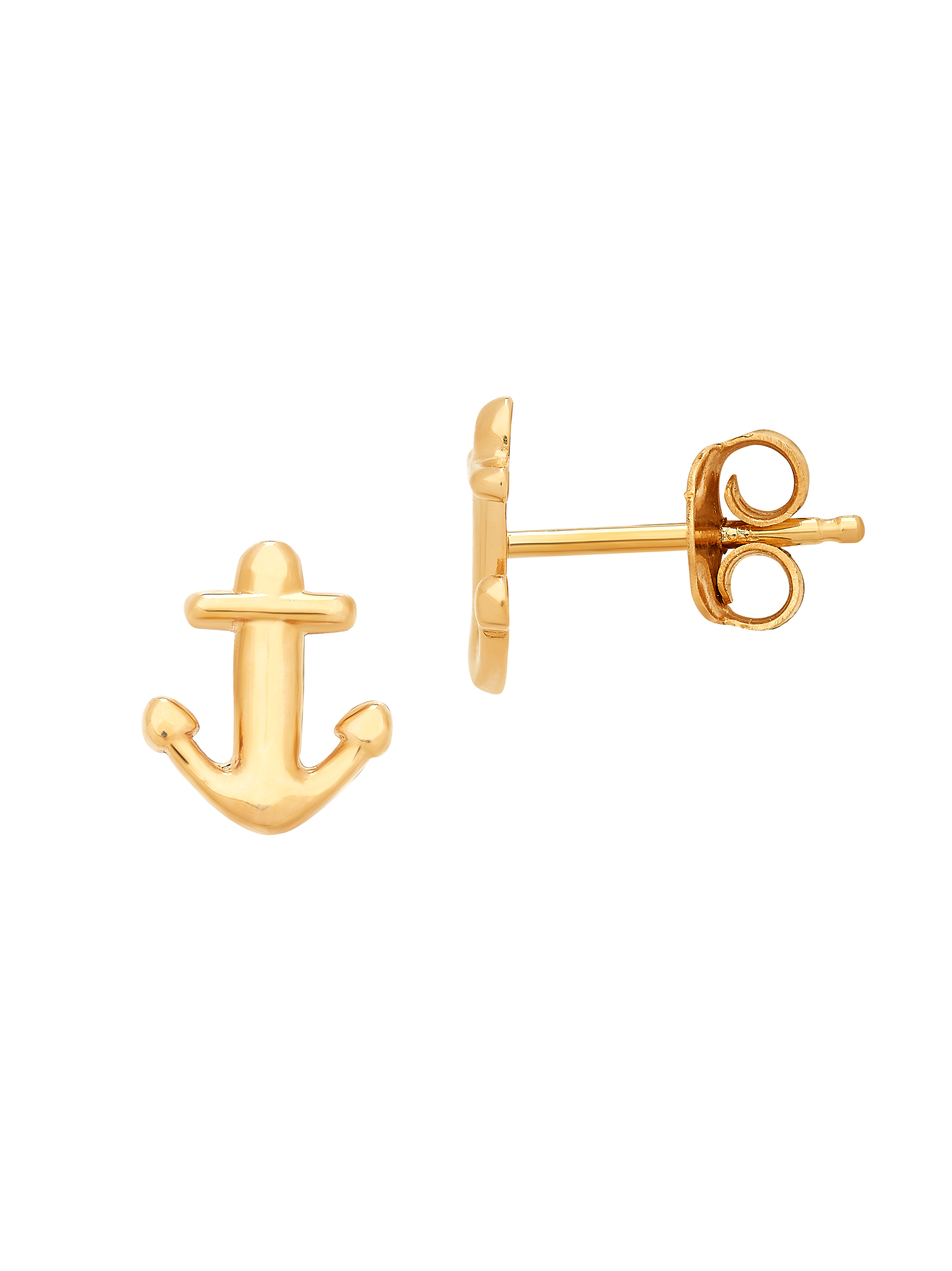 Gold anchor studs are simple and chic, and are basically a must have for anyone who loves a nautical vibe.