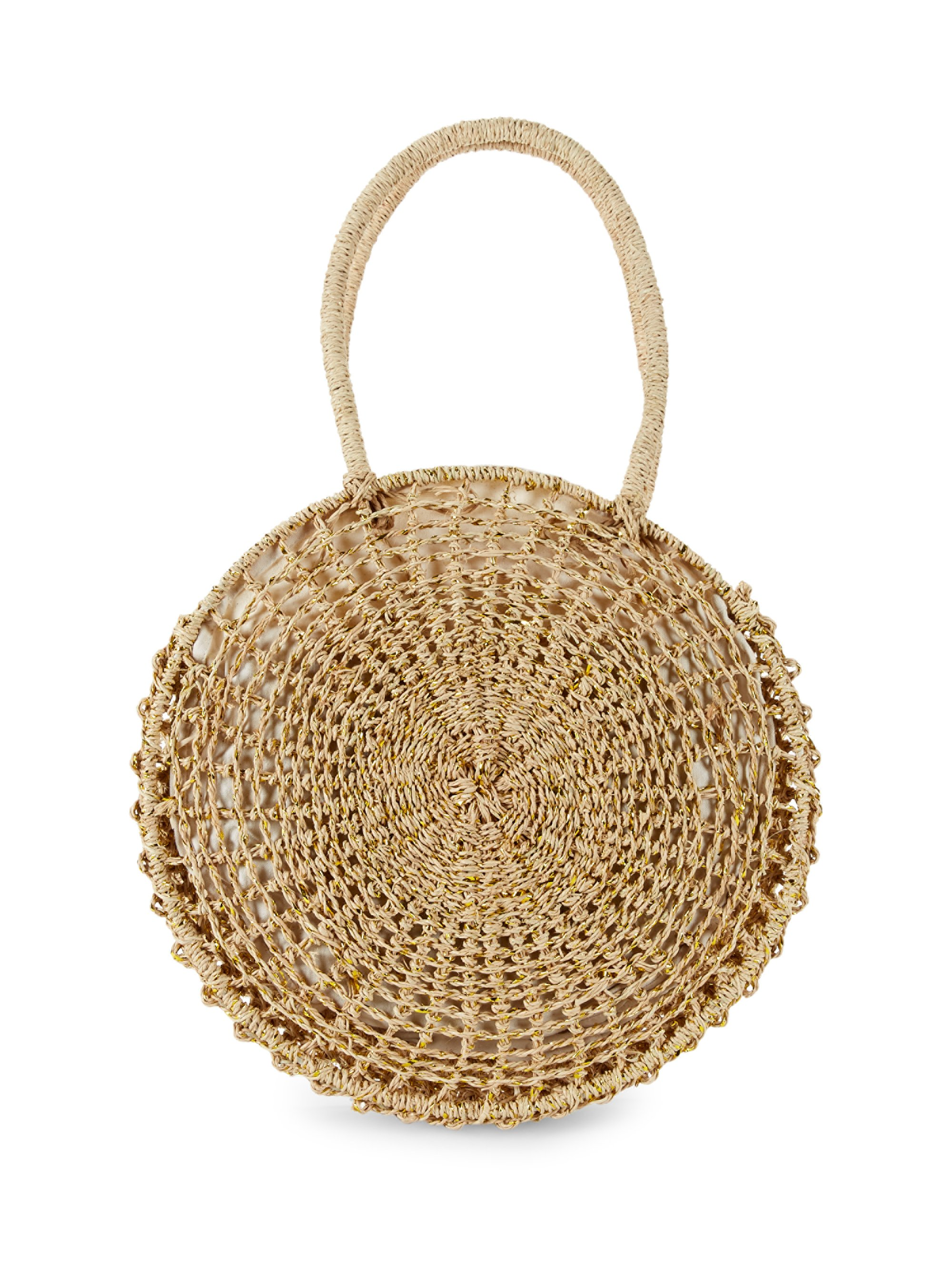 I love this beachy straw tote that works with nearly every summer look, both day and night.