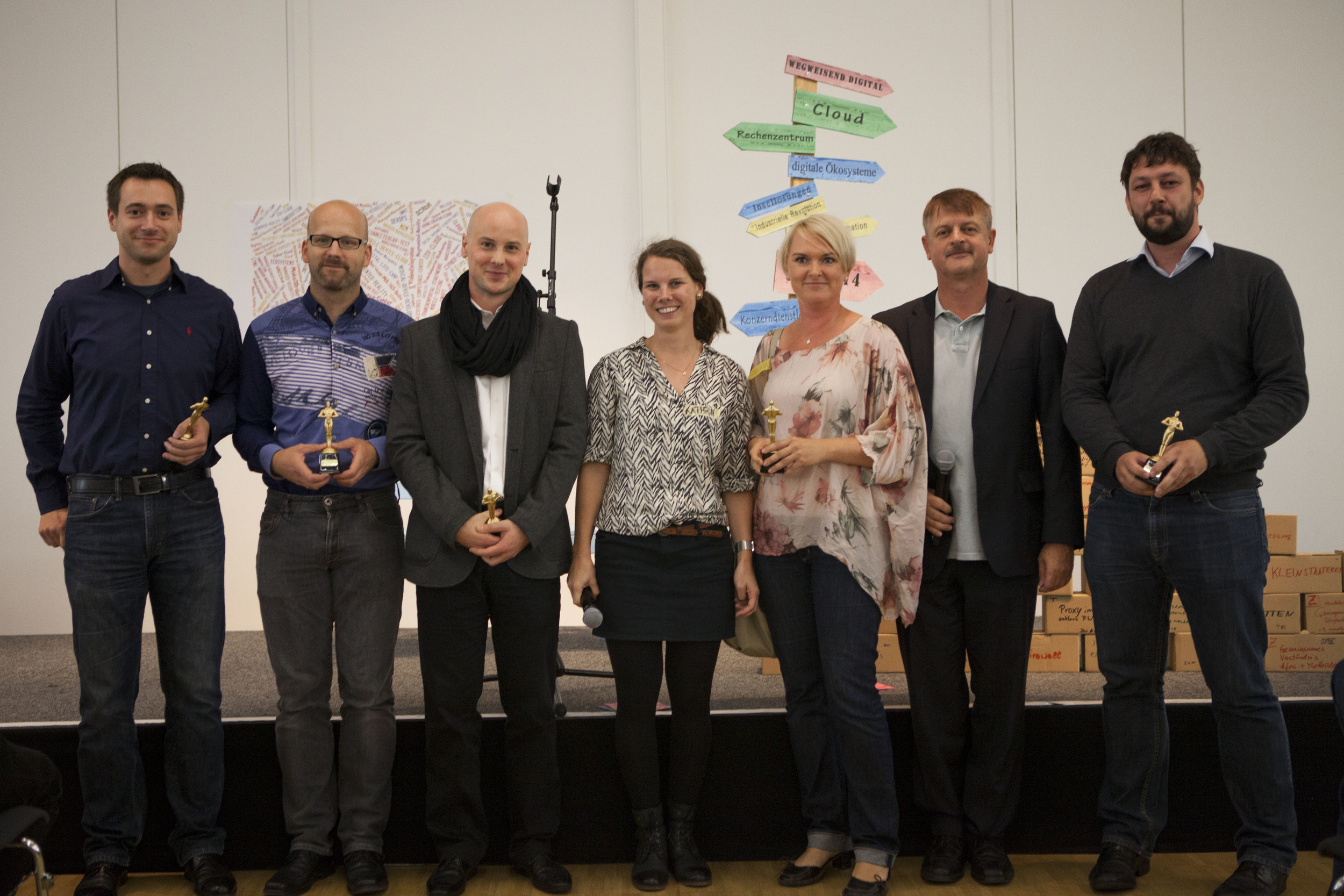 Gewinner des Best Session Award - Digital Life Camp 2014