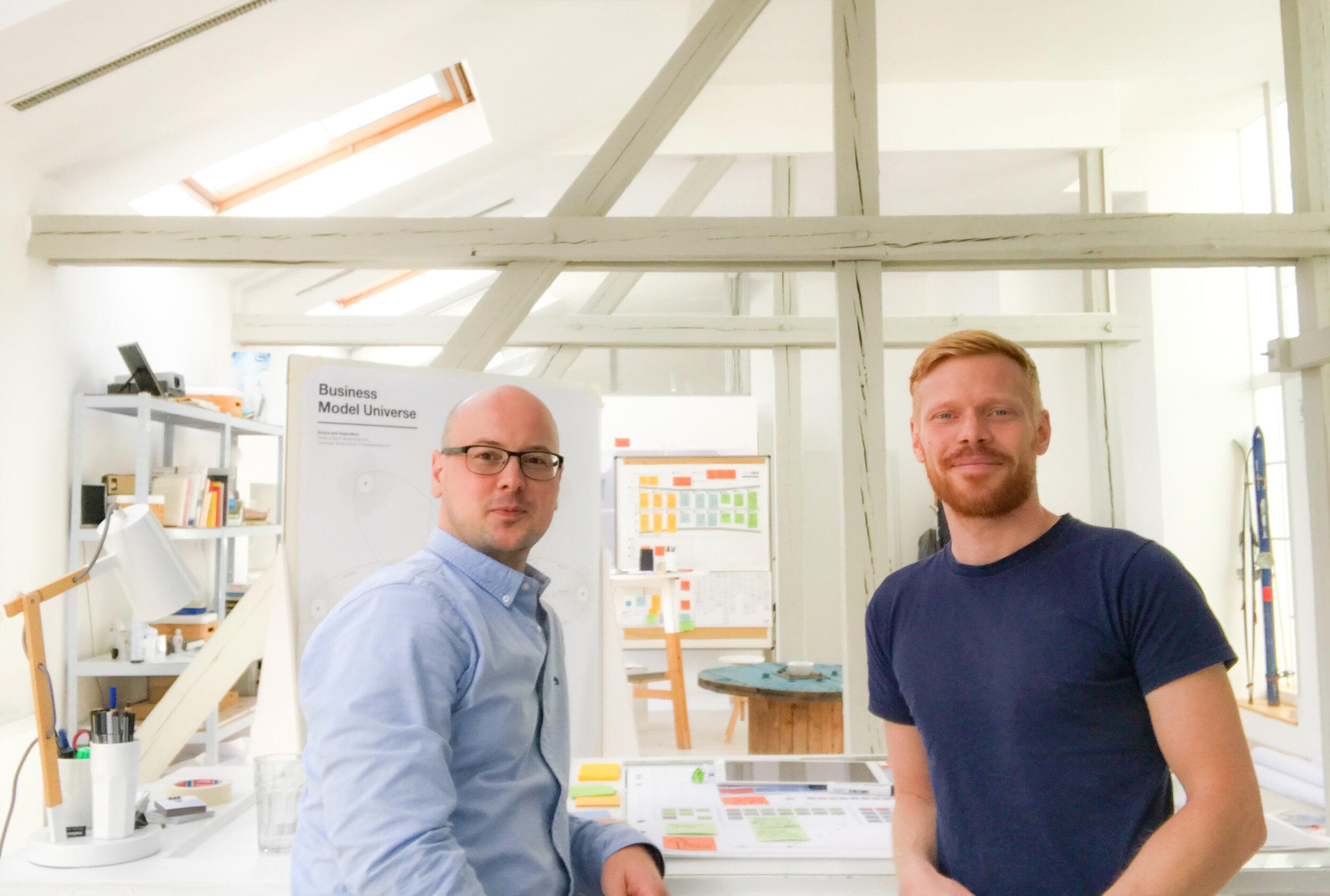 rechts: Jan Graf, Verwegener & Trefflich GmbH