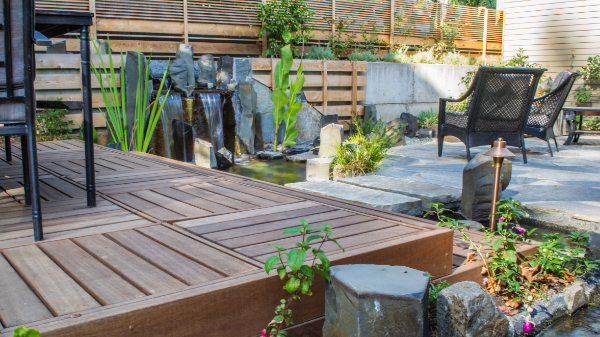 No wasted space in this contemporary garden.