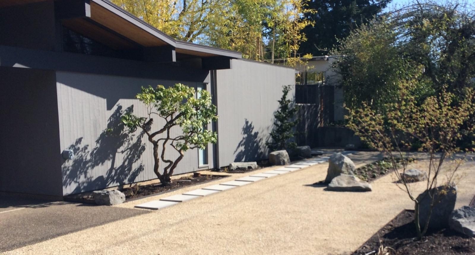 modern landscape design portland oregon