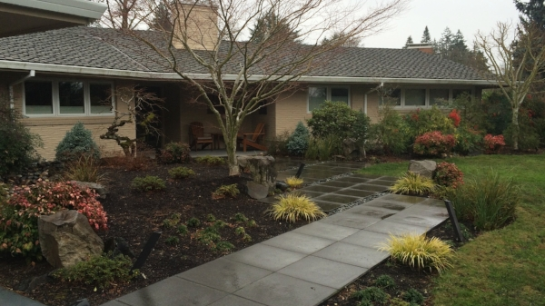 landscape with curb appeal