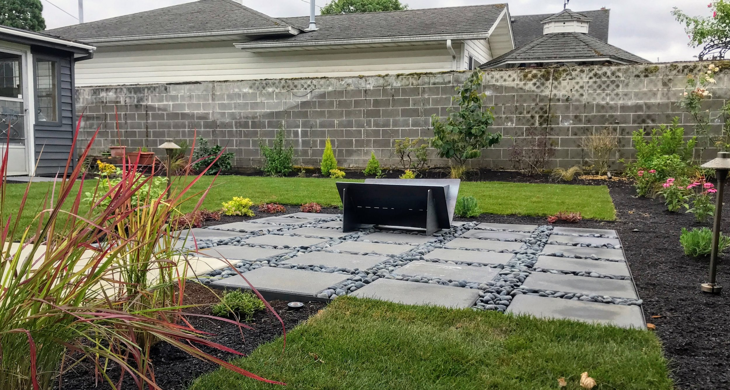 A recent design-build project from Ross NW Watergardens