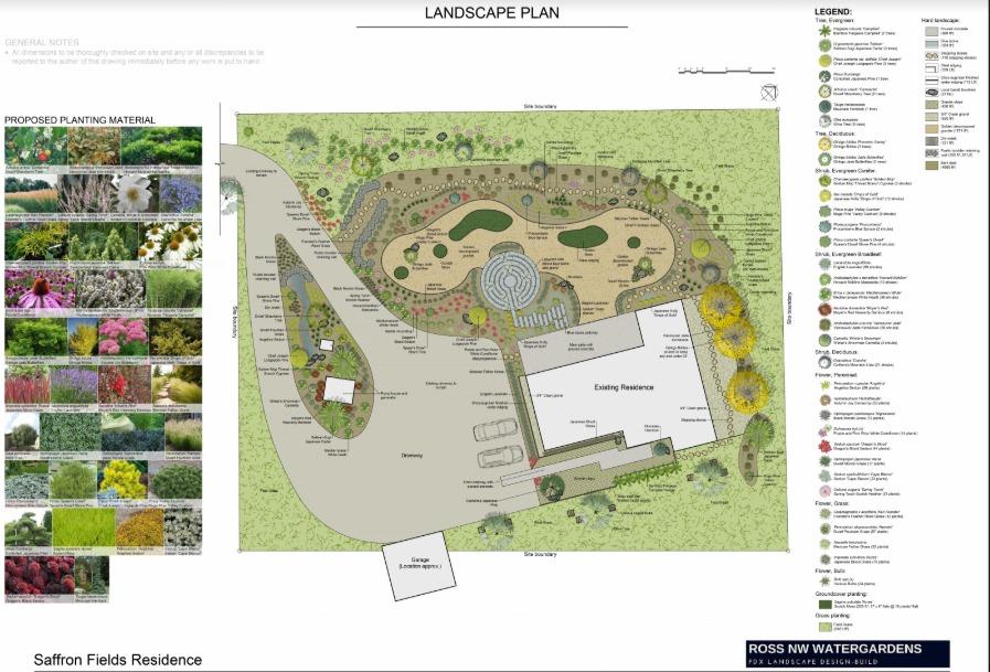 Landscape Plot Plans 2d Landscape Design Renderings