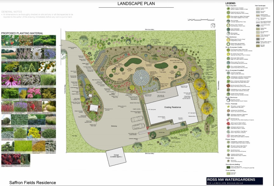 winery landscape design by Ross NW Watergardens