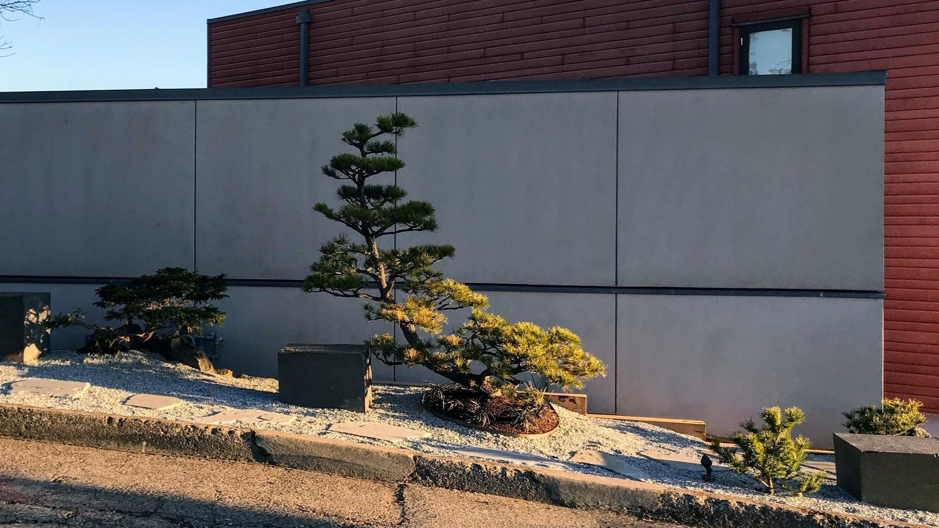 Portland S Modern Landscape Leaders Design Installation