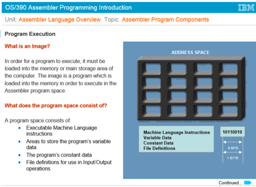 The State assembly language      STORE instruction and its