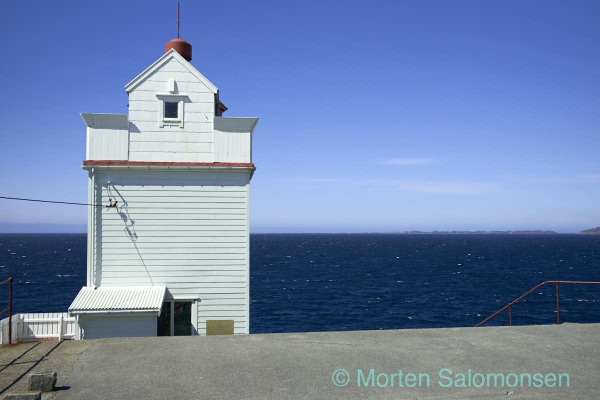 Ryvarden lighthouse in Sveio, just north of Haugesund on the western coast of Norway