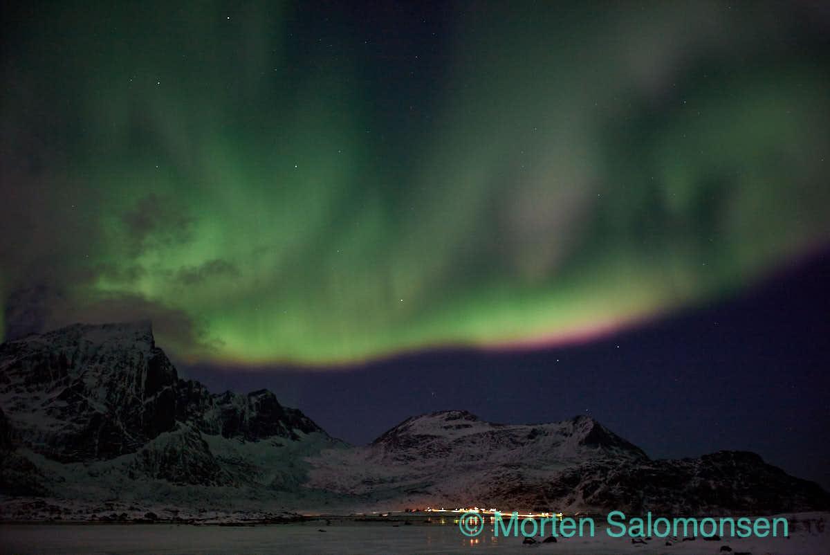 Aurora, near Kilan in the Lofoten islands