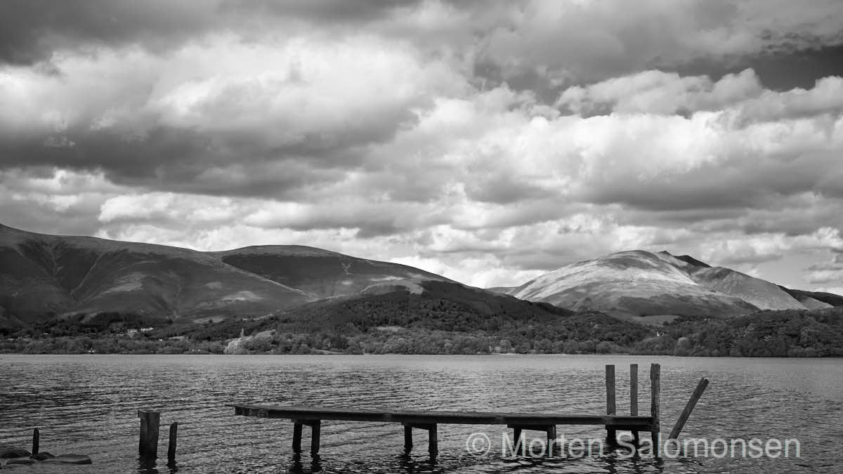 Derwent Water, view towards Keswick, Skiddaw and Blencathra