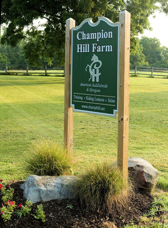 Welcome to Champion Hill Farm, LLC!