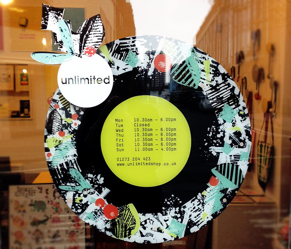Unlimited window  detail 2 E Cox