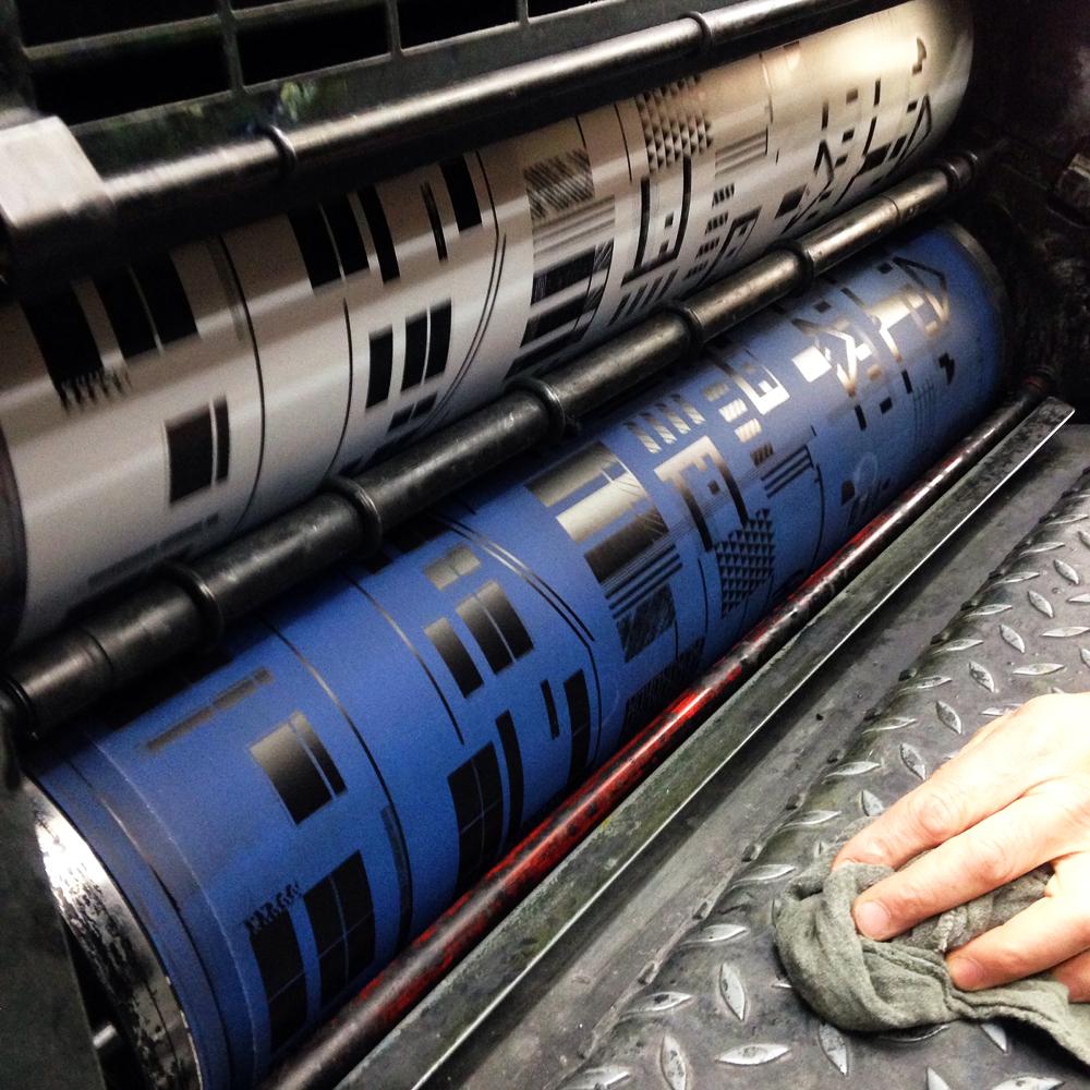 E Cox book at printers