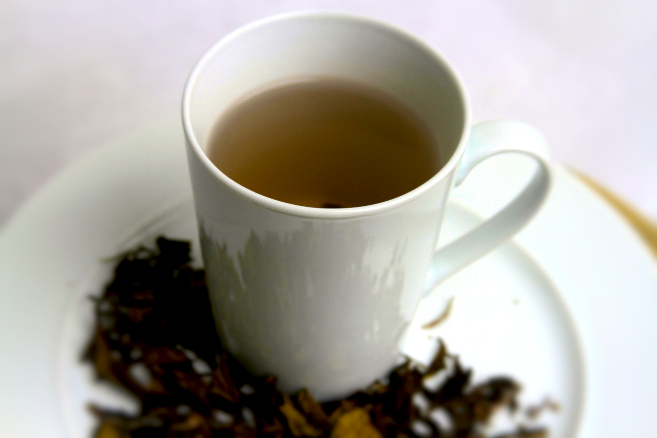 White tea.