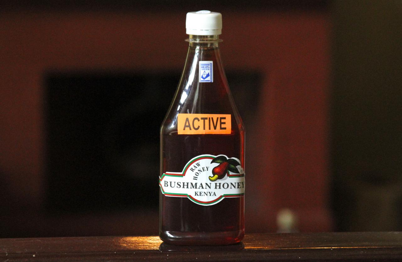Kenyan Bushman Honey.