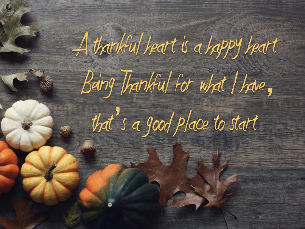 foto de A Thankful Heart is a Happy Heart — The Church of God International